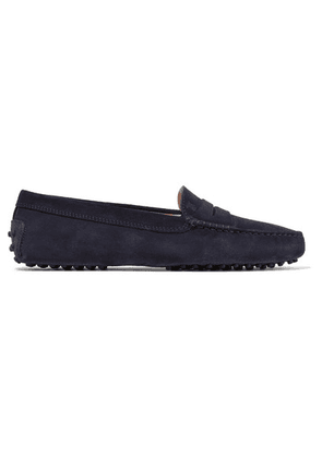 Tod's - Gommino Suede Loafers - Navy