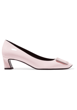 Roger Vivier - Trompette Patent-leather Pumps - Pastel pink
