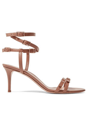 Gianvito Rossi - 70 Leather Sandals - Neutral