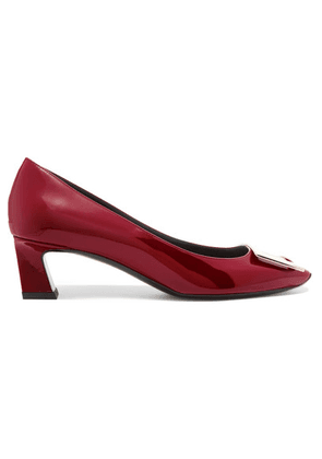 Roger Vivier - Trompette Patent-leather Pumps - Red