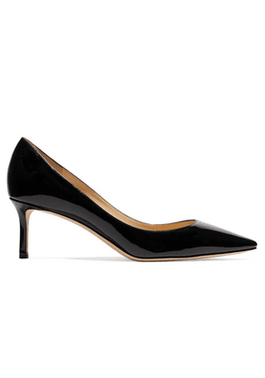 Jimmy Choo - Romy 60 Patent-leather Pumps - Black