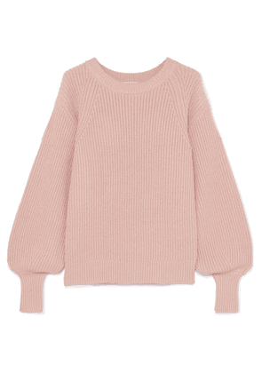MICHAEL Michael Kors - Ribbed Knitted Sweater - Antique rose