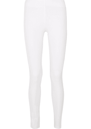 Joseph - Stretch-gabardine Leggings - White