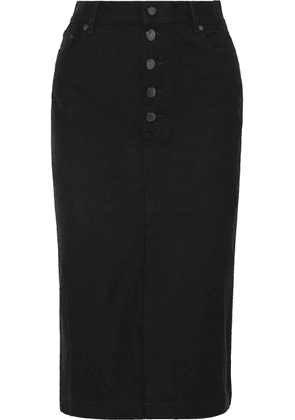 Joseph - Denna Stretch-denim Pencil Skirt - Black