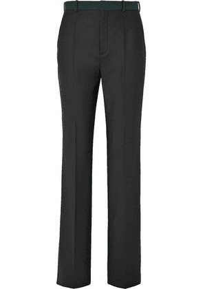 Joseph - Tropez Stretch-twill Straight-leg Pants - Black