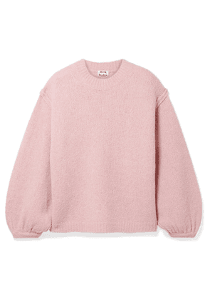 Acne Studios - Kiara Oversized Knitted Sweater - Pastel pink