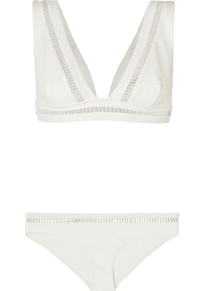 Zimmermann - Allia Cutout Bikini - Ivory