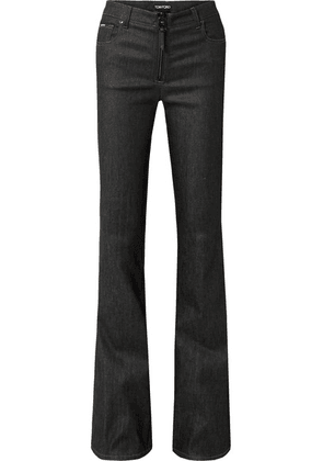 TOM FORD - Low-rise Flared Jeans - Black