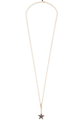 Selim Mouzannar - Istanbul 18-karat Rose Gold, Sapphire And Diamond Necklace - one size
