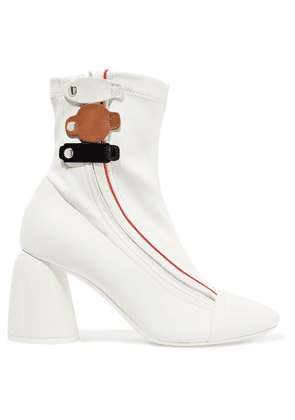 Ellery - Leather Ankle Boots - White
