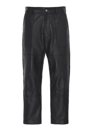 AMI Leather Worker Pants