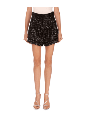Orta Sequin Cuffed Shorts