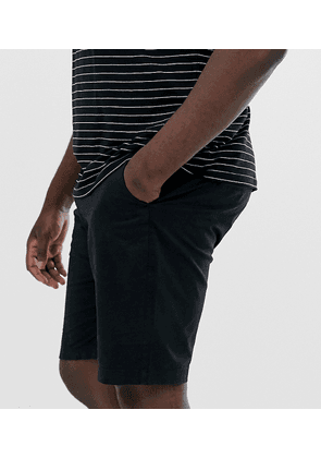 Jacamo chino short with stretch in black