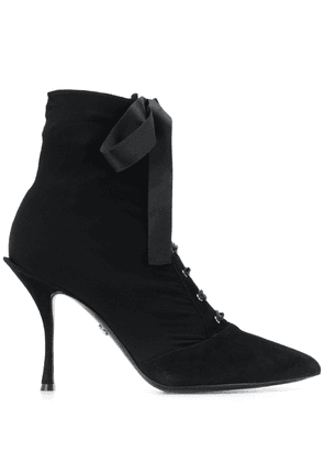 Dolce & Gabbana lace-up boots - Black