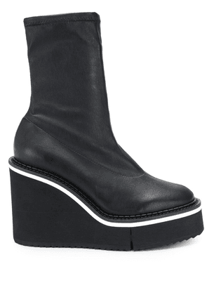 Clergerie Bliss wedge boots - Black