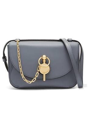 JW Anderson - Nano Key Leather Shoulder Bag - Gray