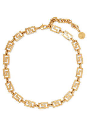 Versace - Gold-plated Choker - one size