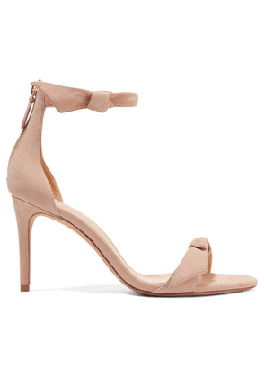 Alexandre Birman - Clarita Bow-embellished Suede Sandals - IT38