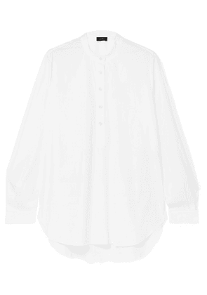 Joseph - Luke Cotton-blend Poplin Shirt - White