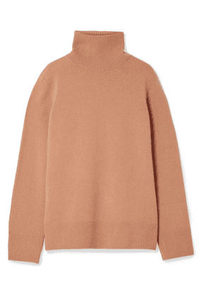 The Row - Milina Wool And Cashmere-blend Turtleneck Sweater - Sand