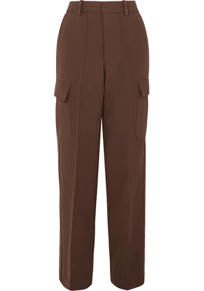 Peter Do - Fireman Cady Straight-leg Pants - Brown