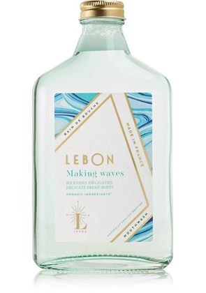 LEBON - Making Waves Mouthwash - Delicate Fresh Mints, 275ml