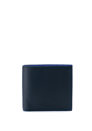 Balmain two-tone wallet - Blue