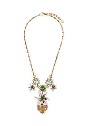 Dolce & Gabbana floral necklace - Gold
