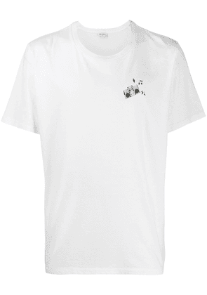 Saint Laurent 'radio beat' T-shirt - White
