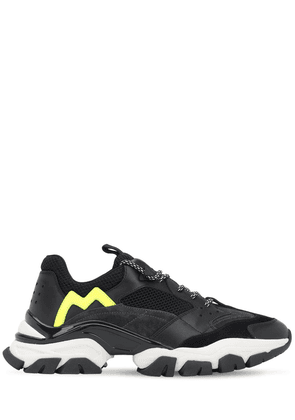Terence Leather & Mesh Sneakers