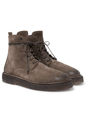 Marsell - Suede Boots - Brown