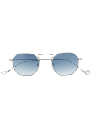 Eyepetizer Odeon octagon sunglasses - Silver