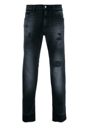 Dolce & Gabbana faded jeans - Blue