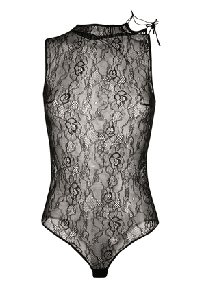 Styland lace bodie - Black