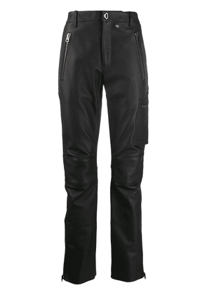 Acne Studios fitted biker trousers - Black
