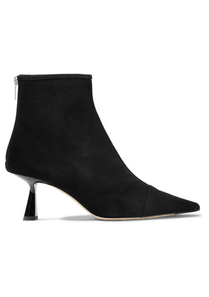 Jimmy Choo - Kix 65 Suede Ankle Boots - Black
