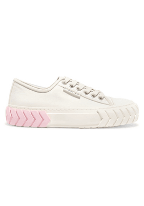 both - Tyres Low Canvas Sneakers - White