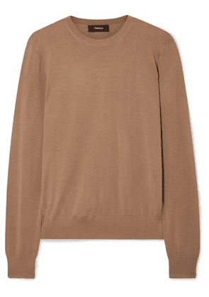Theory - Wool-blend Sweater - Light brown
