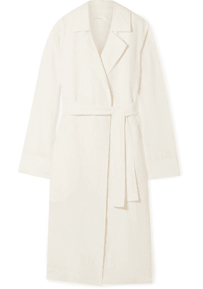 The Row - Gami Belted Canvas Trench Coat - Off-white