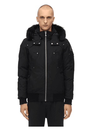 Ballistic Down Bomber Jacket W/fur