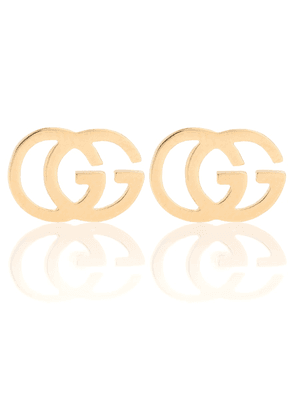 GG 18kt gold stud earrings