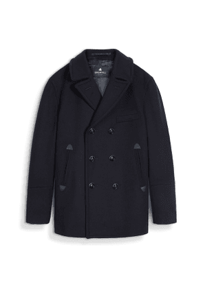 Navy Chatham Merino Wool Pea Coat