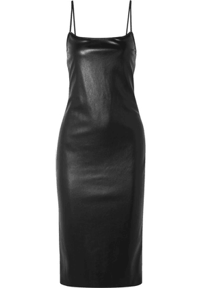 Theory - Bedford Faux Leather Dress - Black