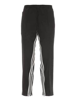 3 Stripe Cropped Techno Track Pants