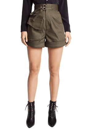 Self Portrait Twill Shorts