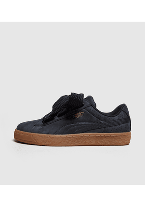 PUMA Basket Heart Women's, Black