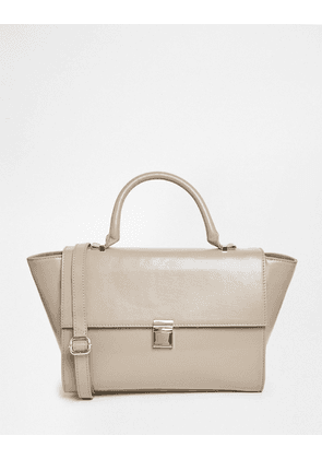 ASOS Leather Top Handle Bag