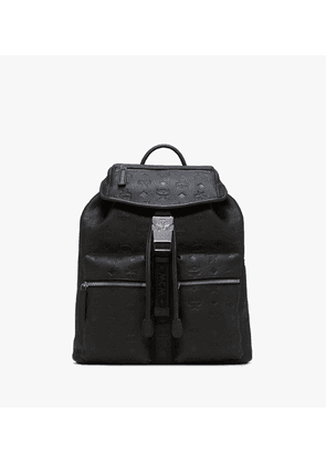Two-pocket Backpack In Tivitat Leather