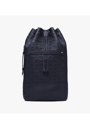 Drawstring Backpack In Tivitat Leather