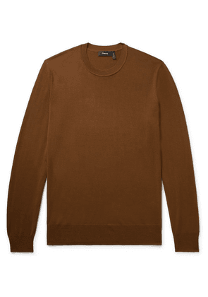 Theory - Merino Wool Sweater - Chocolate